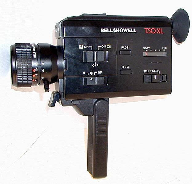 Bell and Howell T 50 XL - Super8wiki